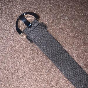 Thick Grey Belt